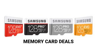 Samsung memory card deals in UK