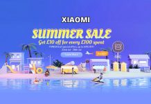 Xiaomi Newest Sales for UK, Jul 2019