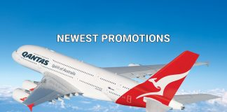 Qantas Airways Promotions for Flight from UK