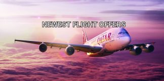 Qatar Airways offers for flight from UK