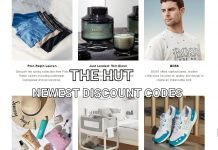 The Hut Newest Discount Codes for UK