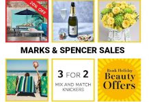 Marks & Spencer Sales for UK