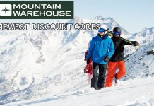 Mountain Warehouse Newest Discount Codes for UK