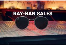 Latest Ray-Ban Sales for May 2019