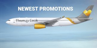 Thomas Cook Airlines Newest Promotions for Flights from UK