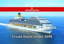 Cruise Nation: Cruise Deals Under £699