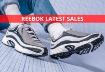 Reebok Latest Sales for UK, Aug 2019