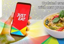 Just Eat UK Promo Codes for 2019