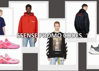 SSENSE promotions for 2019